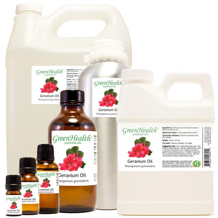 100% pure Geranium oil Pelargonium graveolens