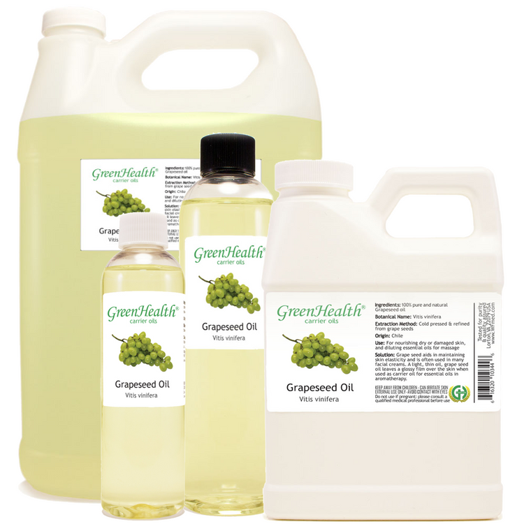 grapeseed oil 1oz 2oz 4oz 8oz 16oz 32oz