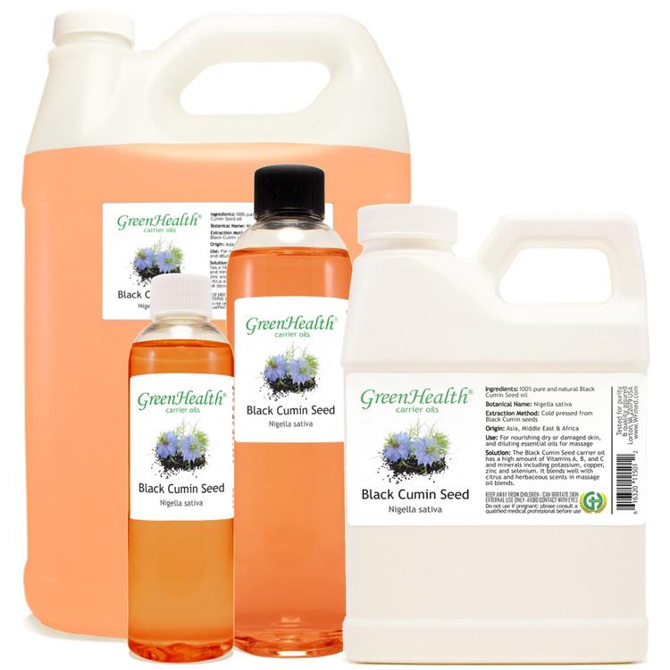 Black Cumin Seed Oil 1oz 2oz 4oz 8oz 16oz 32oz