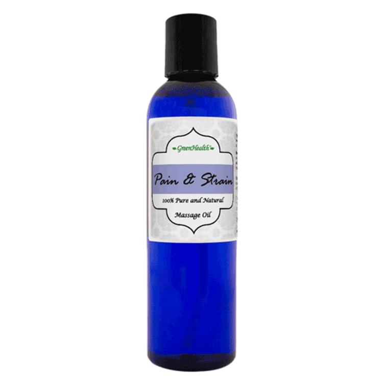 4oz Pain & Strain Massage Oil