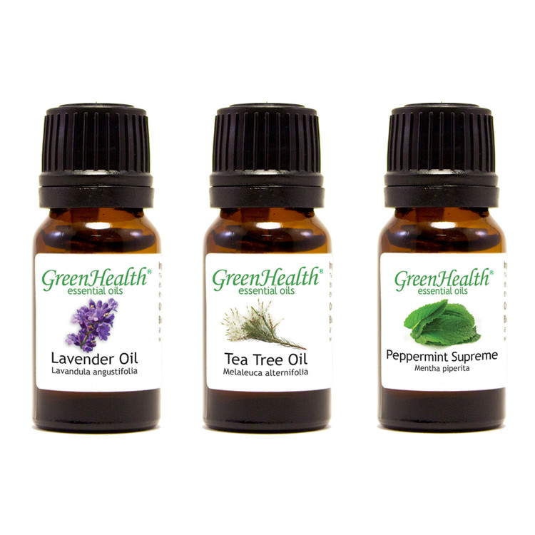 Top 3 Essential Oil Variety Set (3 10 ml Essential Oils)
