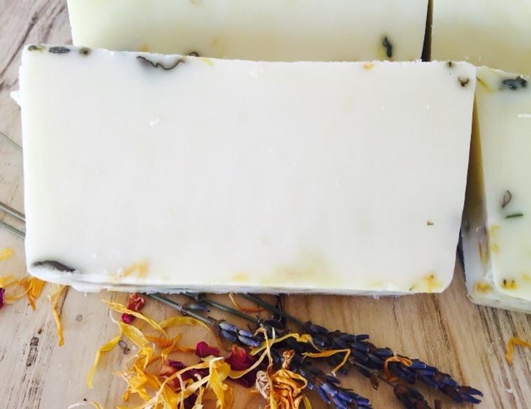 Nighty Night Soap! With fresh herbs