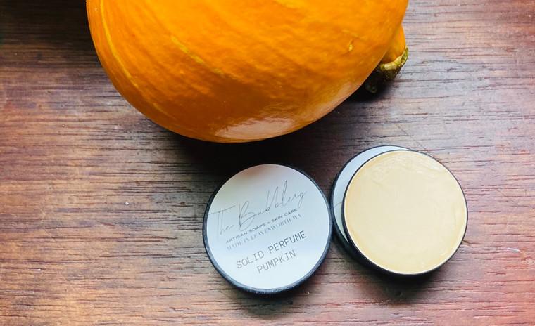 Pumpkin Obsession- Solid perfume