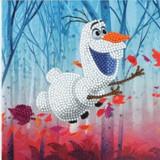 Disney Floating Olaf Crystal Art Card Kit