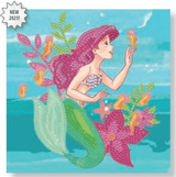 Craft Buddy Disney Ariel Crystal Art Card Kit