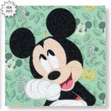 Disney Happy Mickey Crystal Art Card Kit