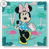 Craft Buddy Disney Minnie on Holiday Crystal Art Card Kit