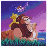 Craft Buddy Lion King Family Crystal Art Kit