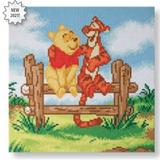 Craft Buddy Disney Pooh & Tigger Crystal Art Kit
