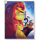 Craft Buddy Lion King Medley Crystal Art Kit