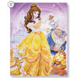 Craft Buddy Disney Beauty & the Beast Medley Crystal Art Kit