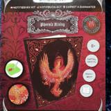 Phoenix Rising Crystal Art Notebook