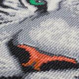 Close-up image of Craft Buddy White Tiger crystal art kit design