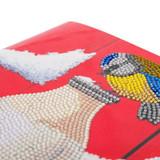 Image of Birds Milkshake X L card close-up
