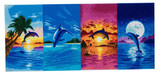 Image of Craft Buddy Day of the Dolphin crystal art kit design