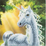 Image of Craft Buddy Sunshine Unicorn crystal art card kit design