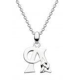 Image of Heritage Celtic Initial Pendant Necklace, initial A
