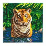 Image of Craft Buddy Tiger Pool crystal art kit design