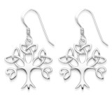 Image of Heather Needham Silver Celtic Tree of Life earrings