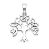 Image of Heather Needham Silver Celtic Tree of Life Pendant - pictured without chain