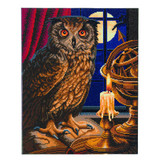 Image of Craft Buddy Lisa Parker Licensed Astrologer Owl crystal art kit design