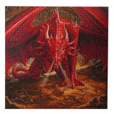 Image of Craft Buddy Licensed Anne Stokes Dragon Lair Crystal Art kit design