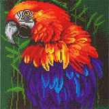 Image of Craft Buddy Tropical Bird crystal art kit design