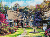 Image of Country Cottage Crystal Art Diamond Painting