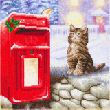 Image of Postman Cat Crystal Art