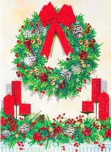 Image of Festive Wreath X L card