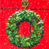 Image of Festive Wreath card