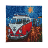 Craft Buddy Camper Van Go crystal art design
