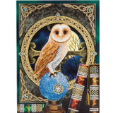 Image of Spell Keeper Owl Crystal Art XL Card