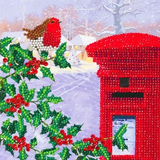 Image of Robin & Postbox Card
