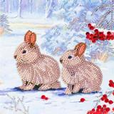 Image of Winter Bunnies Card