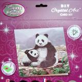 Craft Buddy Panda Crystal Art Card Kit Packaging