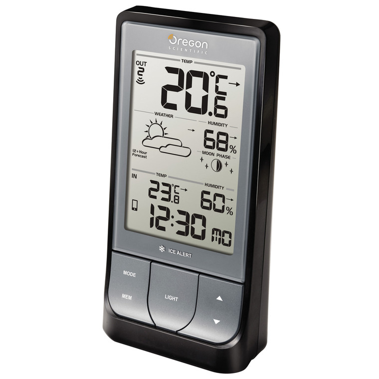 BAR218HG Bluetooth Low Energy Weather Station with Temperature, Humidity & Weather Forecast