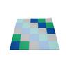 Children's Factory Patchwork Mat & 12 Piece Block Set – Contemporary, CF805-206