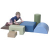 Climb and Play 6 Piece Play Set – Woodland 2