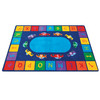 Alphabet Cars - Rectangle Large Rug 2