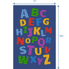 Alphabet Scramble - Rectangle Small Rug