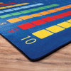 Counting Color Grid - Rectangle Large Rug 4