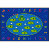 Lily Pad Counting Fun - Rectangle Large Rug
