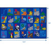 Alphabet Animals - Rectangle Large Rug
