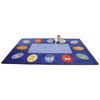 Expressions - Rectangle Small Rug, CPR438