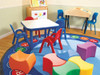 ABC Rotary - Round Large Rug, CPR458