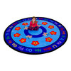 Butterflies - Round Large Rug