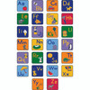 Alphabet Seating Squares with Images - Set of 26 2