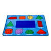 3D Geometric Shapes Rug - Rectangle Small Rug 3