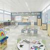 Jonti-Craft® See-Thru Table Divider Shields - Center Divider, 3 Sizes, 984xJC